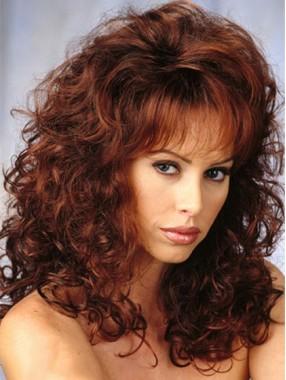 Neue Ankunfts-lange lockige Volumn synthetische Haar-Perücken