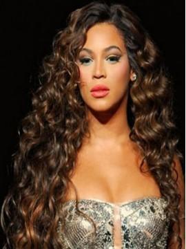 Beyonce Gelockt Perücke