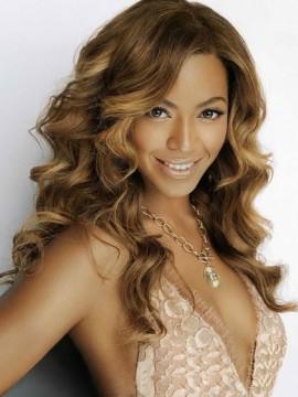 Beyonce Lang Spitzenfront Wellig Remy Echthaar Perücken