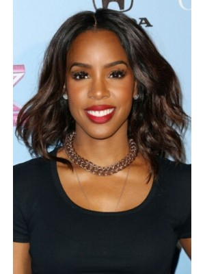 Kelly Rowland Layered For Thick Hair Mittel Welling Perücken