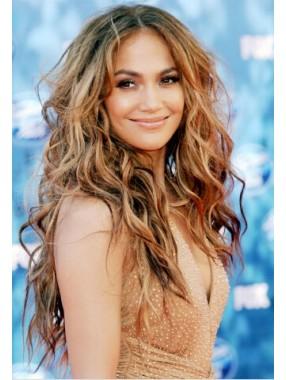 Jennifer Lopez Locking Spitzefront Synthetik Perücken